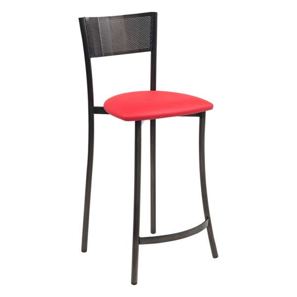 Tabouret snack personnalisable rouge - Wasabi - 6