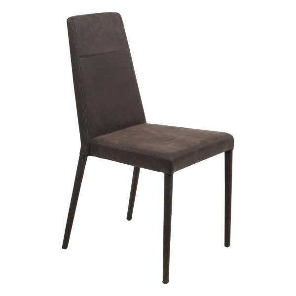 Chaise de salle à manger contemporaine en synthétique - Lolas - 1