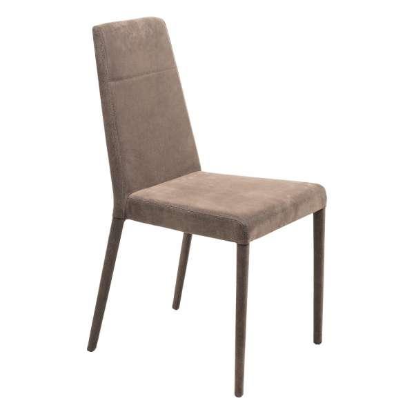Chaise de salle à manger contemporaine en synthétique - Lolas - 7