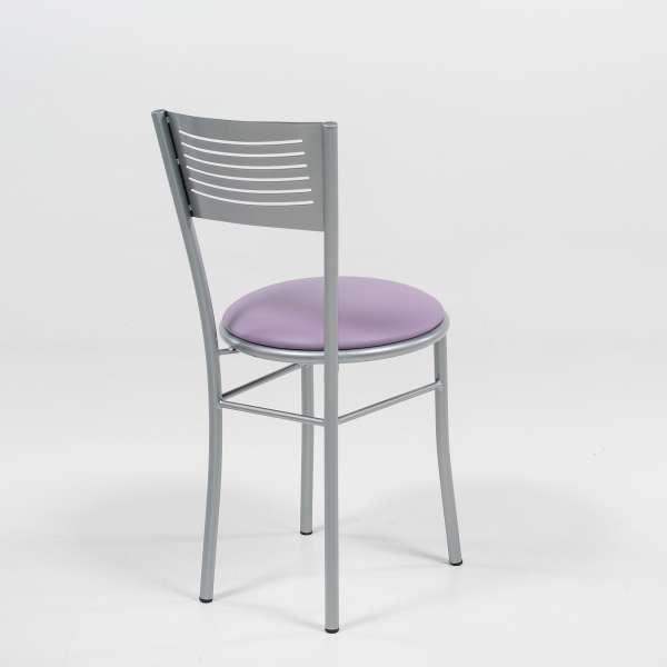 Chaise de cuisine rétro en synthétique - Carol - 4