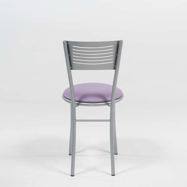 Chaise de cuisine en métal et synthétique - Carol - 5
