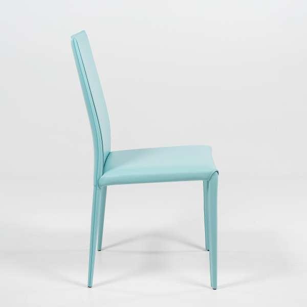 Chaise en croûte de cuir - Kesha  - 3