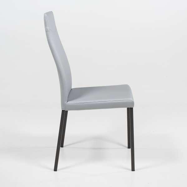 Chaise de séjour en vinyle - Lena - 3