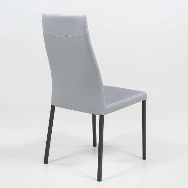 Chaise de salle à manger contemporaine en vinyle - Lena - 4