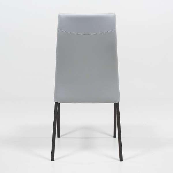 Chaise de salle à manger en vinyle - Lena - 5