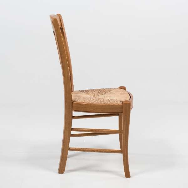 Chaise de séjour en bois rustique - 263  - 3