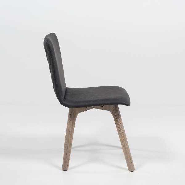 Chaise en synthétique et bois - Plaza 2 - 3