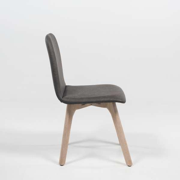 Chaise en synthétique et bois - Pandora - 3