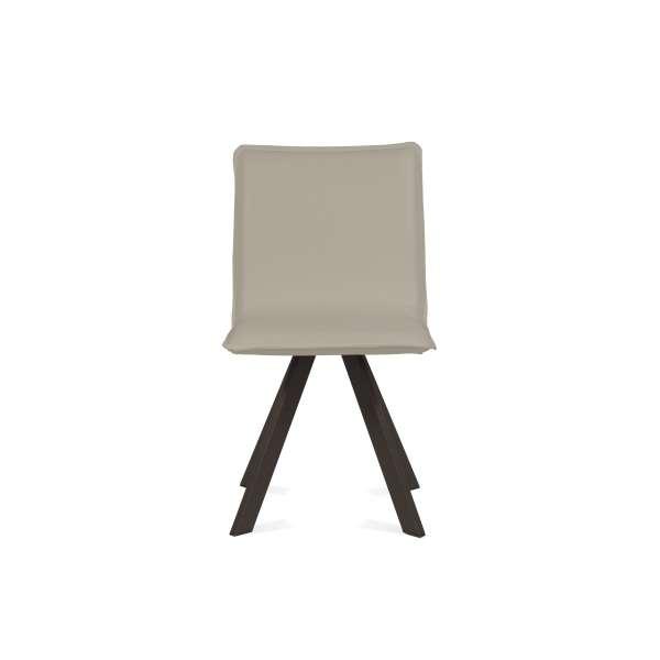 Chaise moderne en synthétique et métal - Denia Moblibérica® 3 - 7
