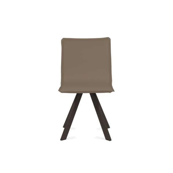 Chaise moderne en synthétique et métal - Denia Moblibérica® 5 - 9