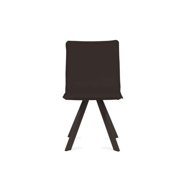 Chaise moderne en synthétique et métal - Denia Moblibérica® 6 - 10