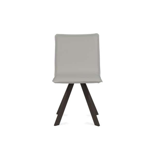 Chaise moderne en synthétique et métal - Denia Moblibérica® 11 - 15