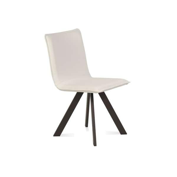 Chaise moderne en vinyle et métal - Denia Moblibérica® - 1