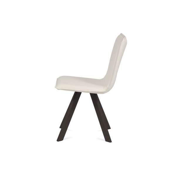 Chaise moderne en synthétique et métal - Denia Moblibérica®  - 5