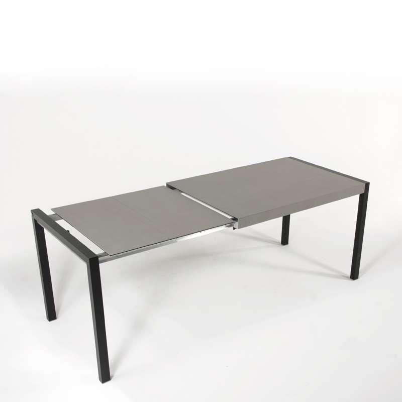 Table Plateau Ceramique Extensible.Table En Ceramique Extensible Concept Metal