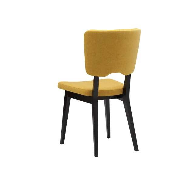 Chaise de salle à manger moderne en tissu et bois - Cocoon - 5