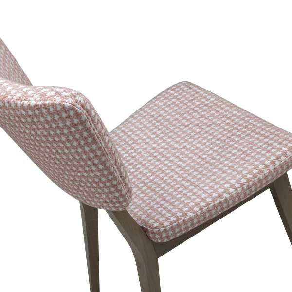 Chaise cocooning en tissu et bois - Cocoon - 13