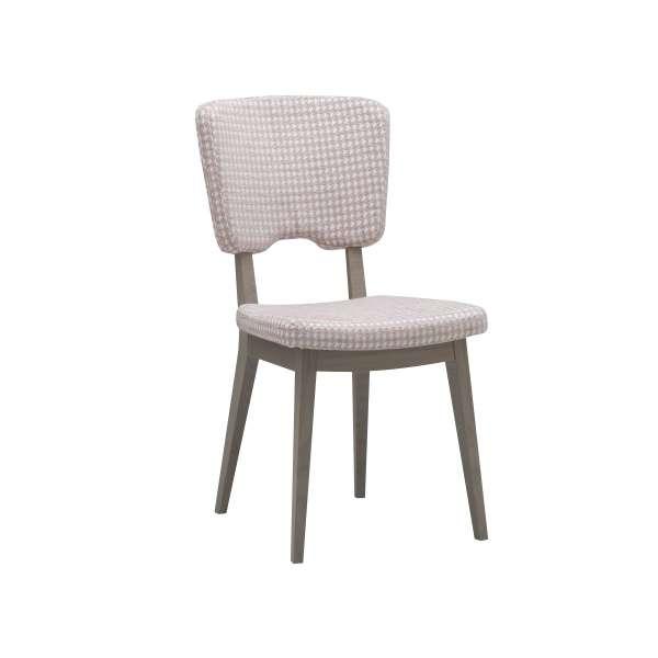 Chaise moderne en tissu et bois - Cocoon - 12