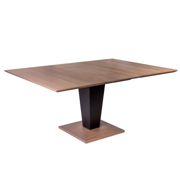 Table carrée moderne extensible en bois - Philae 2 - 2