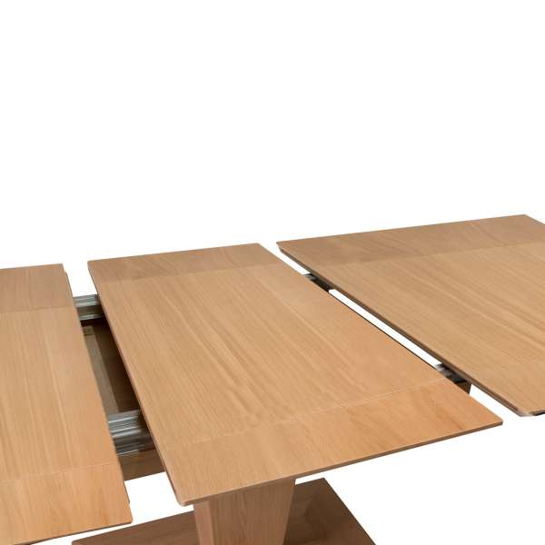 Table carrée moderne extensible en bois - Philae 3 - 3