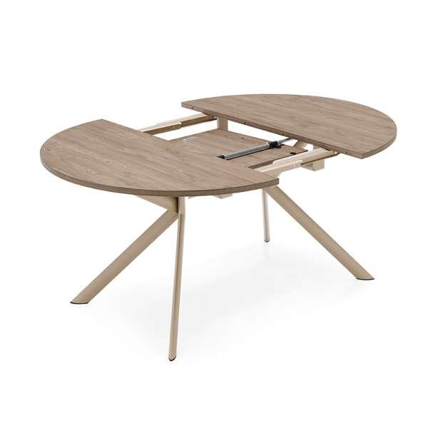 Table ronde extensible en mélaminé - Giove Connubia® 2 - 4