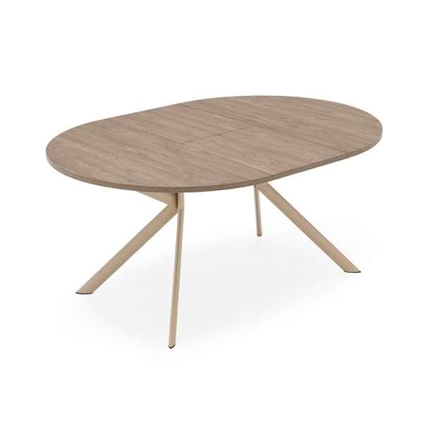 Table ronde extensible en mélaminé - Giove Connubia® 3 - 5