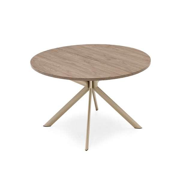 Table ronde extensible en mélaminé - Giove Connubia® - 3