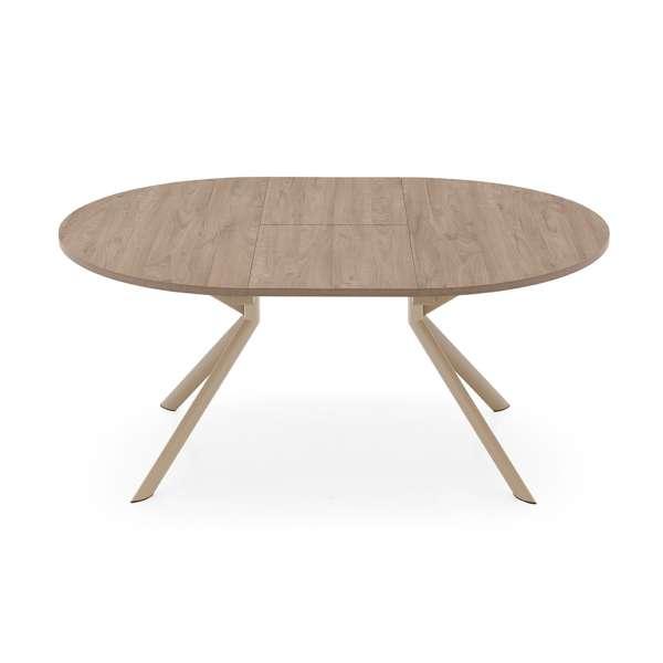 Table ovale extensible en mélaminé - Giove Connubia® 2 - 2