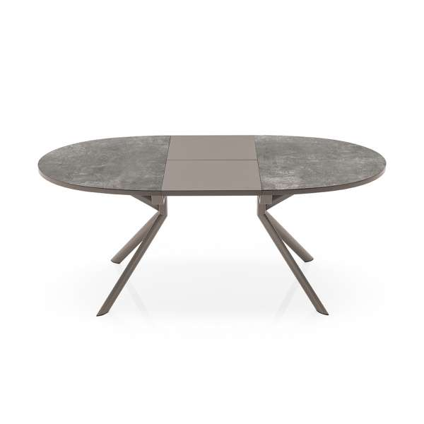 Table ovale extensible en céramique - Giove Connubia® 2 - 2