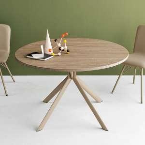 Table ronde extensible en mélaminé - Giove Connubia® 4