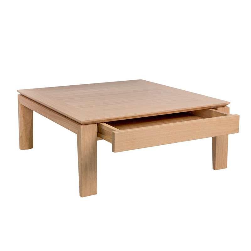 Table Basse Carree Modulable En Ceramique Et Bois Dinette