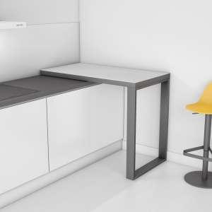 Table snack mobile en céramique - Free