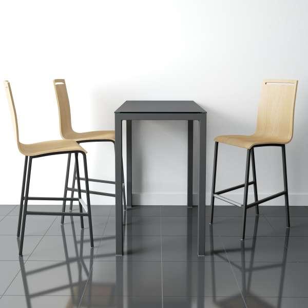 Table rectangulaire moderne en céramique - Logic - 1
