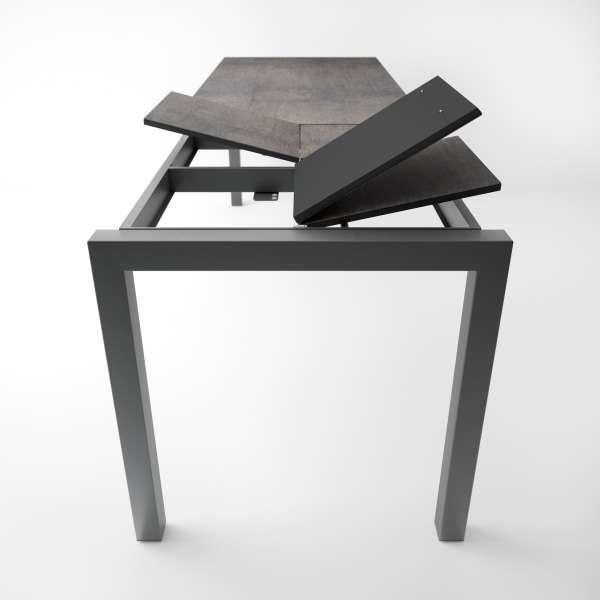 Table snack extensible en céramique et métal - Coma bar - 3