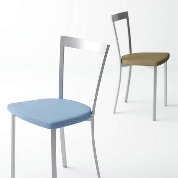 Chaise de cuisine moderne en synthétique et métal - Spirit - 1