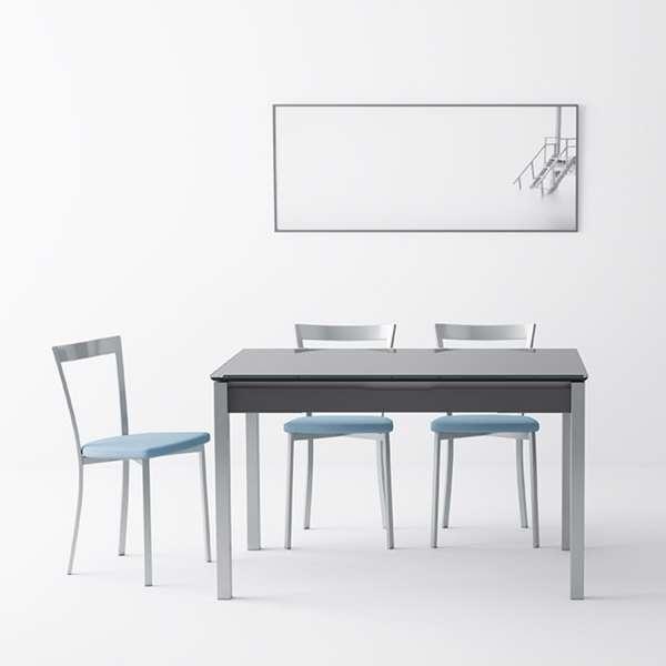 Chaise de cuisine moderne en synthétique et métal - Spirit 2 - 2