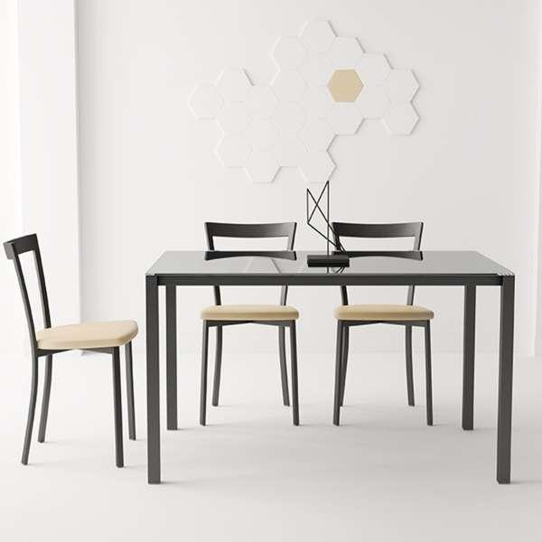 Chaise de cuisine moderne en synthétique et métal - Spirit 3 - 3