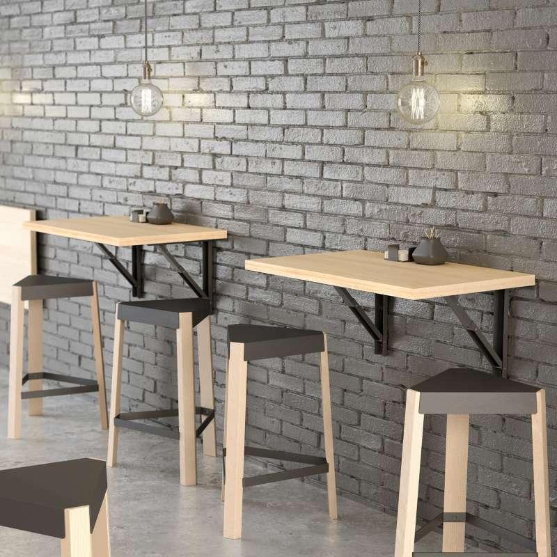 table murale rabattable d 39 appoint vulcano 4. Black Bedroom Furniture Sets. Home Design Ideas