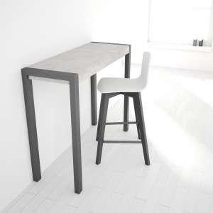 Table snack fixe rectangulaire en céramique et métal - Cumbre 3