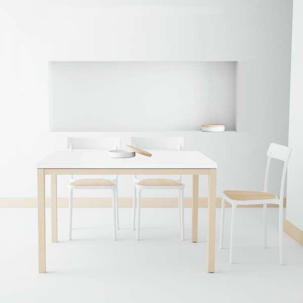 Table de cuisine en céramique avec rallonge - Toy bois - 2