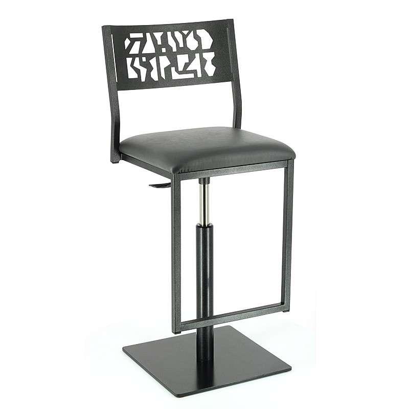 chaise de bar style indu