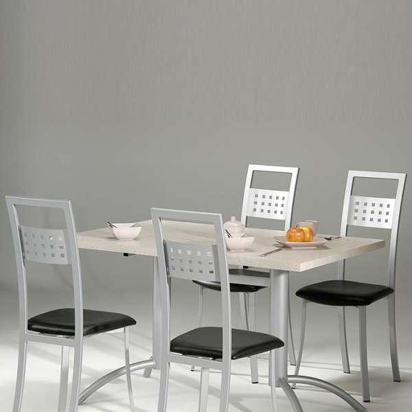Chaise de cuisine en métal et synthétique - Daphné 4 - 5