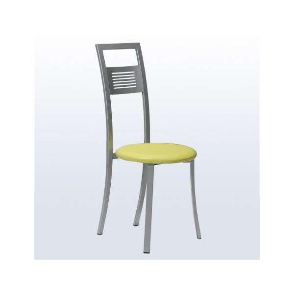 Chaise de cuisine fabrication française en métal et ...