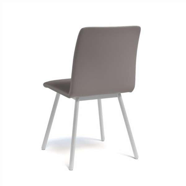 Chaise de salle à manger en métal et synthétique - Pisa - 7