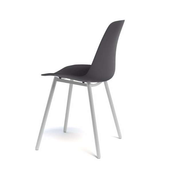 Chaise moderne en métal - Claudio - 4