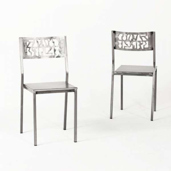 Chaise de cuisine industrielle - Slide - 6