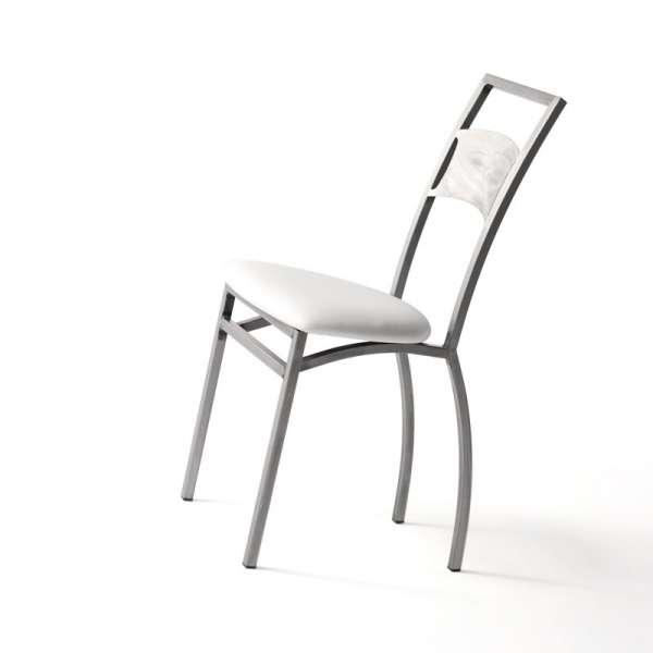 Chaise de cuisine industrielle en métal - Liane - 6