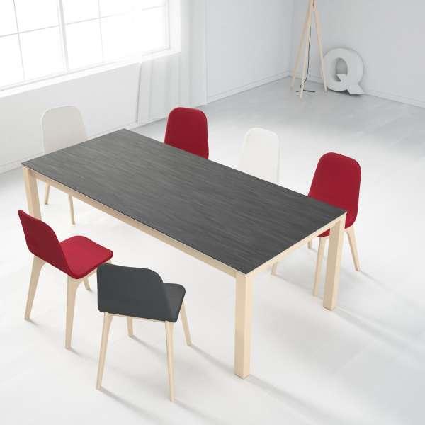 Table en céramique extensible Quadra - 23 - 10