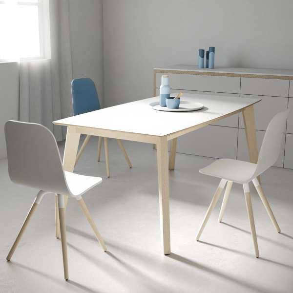 Table design extensible en verre - forme elliptique - Eclipse 4 - 2