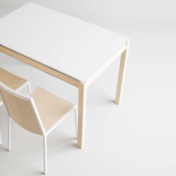 Table de cuisine en verre avec rallonge - Bambola 3 - 3